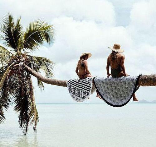 Imagem de summer, girl, and beach