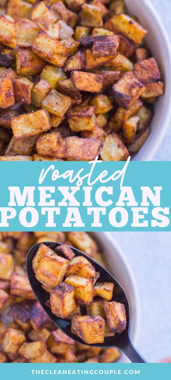 Healthy Mexican Potatoes