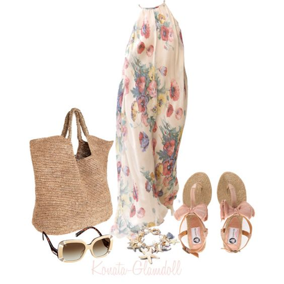Sand And Solitude, created by konata-glamdoll on Polyvore