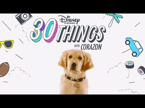 30 Things With Corazon Pup Academy Disney Channel Youtube