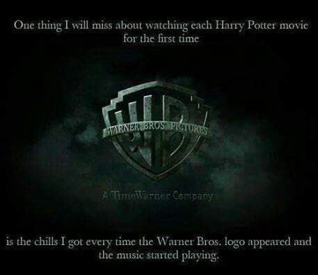 I still get those chills, even after watching them all a million times. Especially Deathly Hallows Part 2.