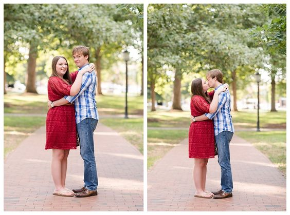A Gorgeous #UNC and #State inspired #EngagementSession | North Carolina Wedding Photography | Michelle Robinson Photography