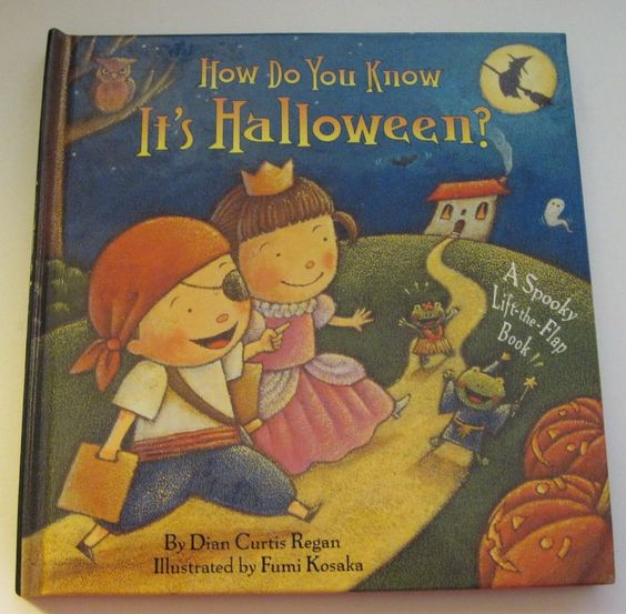 How Do You Know It's Halloween? A Spooky Lift the Flap Book 2002