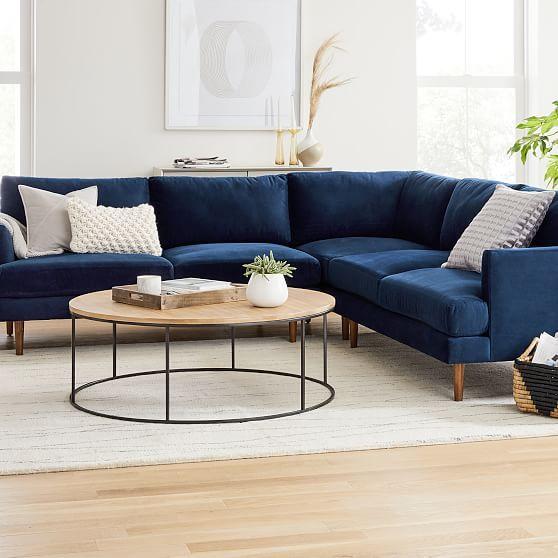 Haven Loft 3 Piece L Shaped Sectional Living Room Sofa Design L Shaped Sofa Designs Blue Corner Sofas
