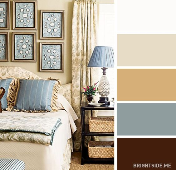 The 20 best color combos for your bedroom: