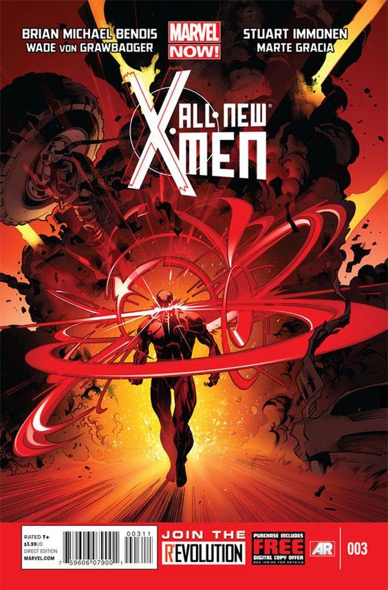All New X-Men #3 - Cover by Marte Gracia 'martegod' + Stuart Immonen + Wade Von Grawbadger