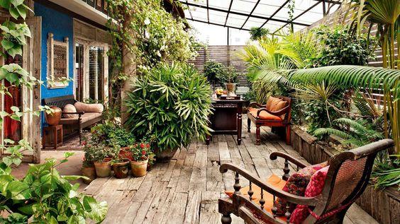 Sabyasachi Mukherjee Opens The Doors To His Charming Kolkata Abode Terrace Garden Indian Garden Patio