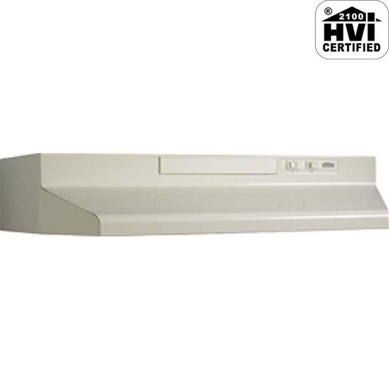 View the Broan 4336 220 CFM 36 Inch Wide Under Cabinet Range Hood with Backdraft…