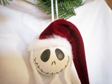 Jack Skellington #Christmas ornament, Nightmare Before Christmas, Halloween: