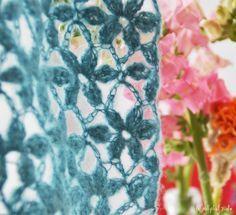 Sommerliche Blumenmuster zum Häkeln!