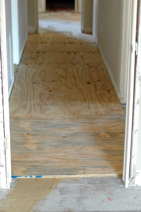 Wood Floor Installation Diy Wood Floors And Plywood On