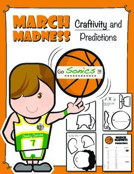 Make your own basketball player this is a fun activity to predict