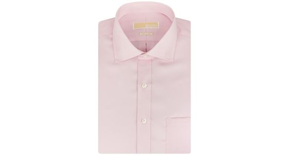 Michael Michael Kors Non-Iron Twill Solid Dress Shirt