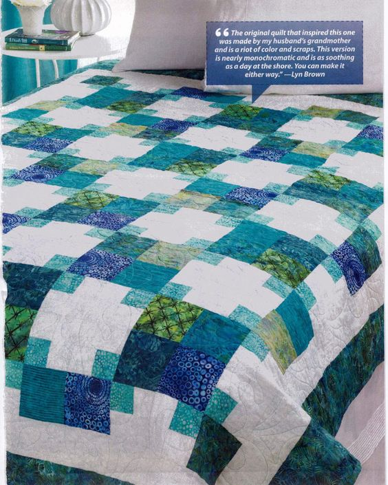 Grandma's Victory Quilt Pattern From Magazine | Quilt ...