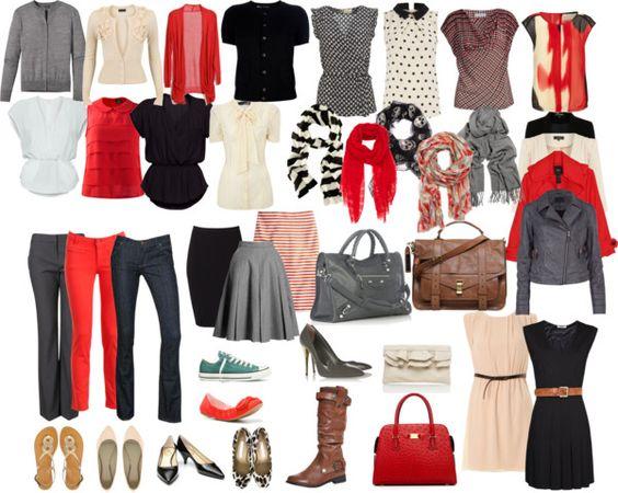 mix and match wardrobe by arbwaggoner on polyvore wear pinterest. Black Bedroom Furniture Sets. Home Design Ideas