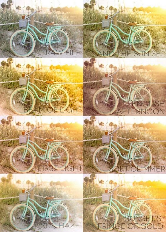 6 Color Lightroom Presets that add a golden glow and warm tones to your images. Includes: And the Sun Set Beam of Light English Afternoon First...