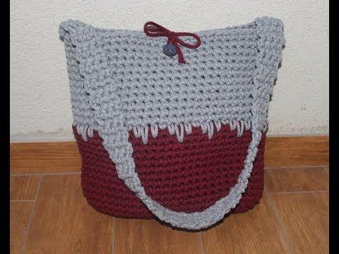 Torebka Na Szydelku Ze Sznurka Bawelnianego Bag On Crochet Straw Bag Bags Crochet