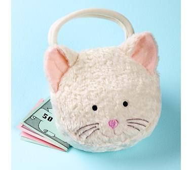 cutest little kitty purse: Party Favors, Party Favor Bags, Cat Birthday, Kitty Cat Party, Gift Ideas, Parties Kitty Cat, Favors Bags, Christmas Gifts
