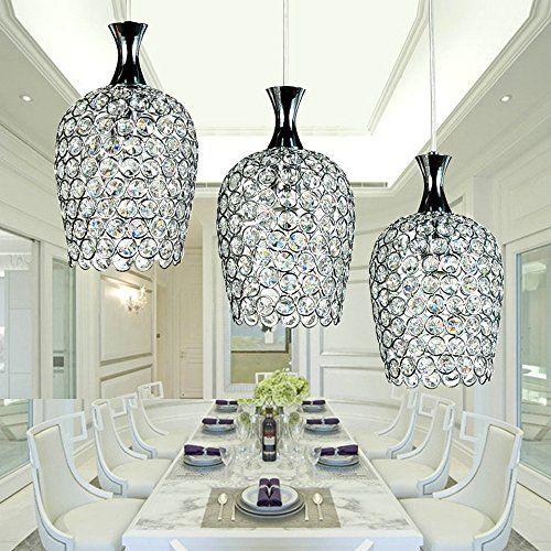 The Brilliant Crystal Island Lights Dinggu Modern 3 Lights Crystal Pendant Li Kitchen Island Lighting Pendant Crystal Pendant Lighting Kitchen Pendant Lighting