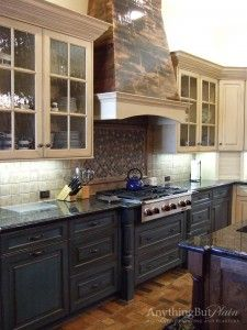 Cabinetry with Antique Finish | Anything But Plain