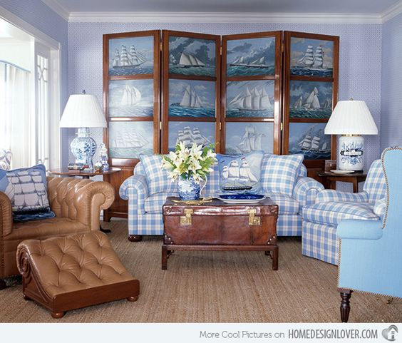 Wood matched with cushioned chairs and classic decor completes the beauty of this living room.