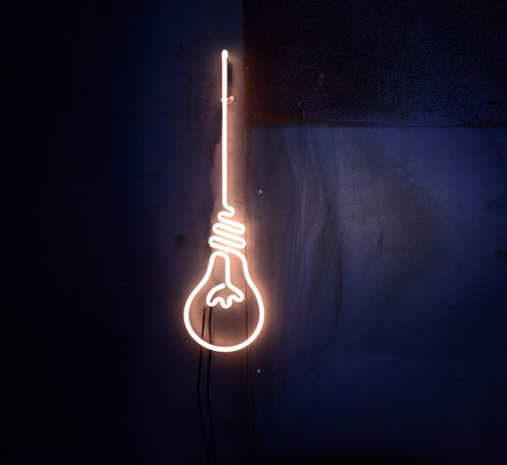 Neon Sign BULB by NeonArtShop on Etsy https://www.etsy.com/uk/listing/290729433/neon-sign-bulb: