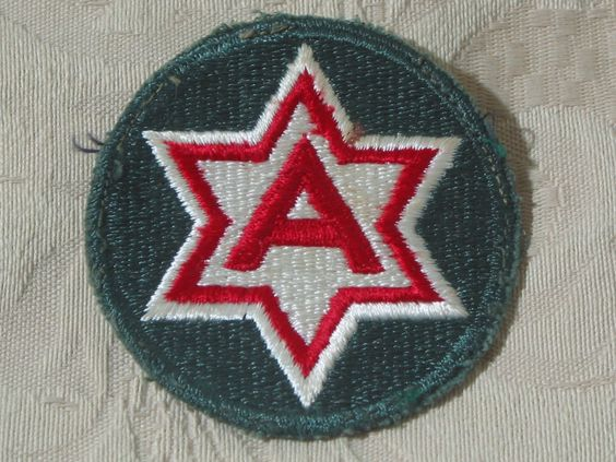 MILITARY SHOULDER PATCH 6th ( Sixth ) Alamo Force Training Army During Vietnam  Junk_625  http://ajunkeeshoppe.blogspot.com/