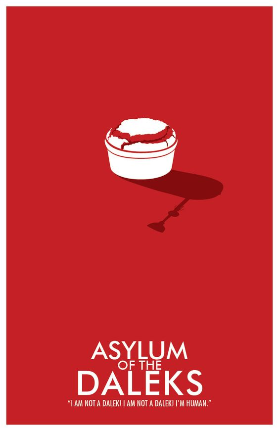 Doctor Who Poster: Asylum of the Daleks
