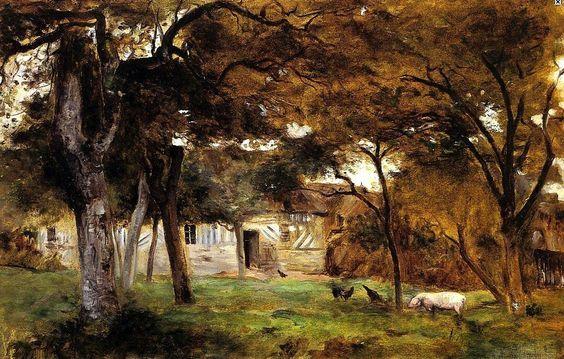 Berthe Morisot- Farm in Normandy