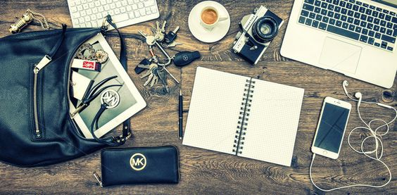 Office desk for business lady by LiliGraphie on @creativemarket