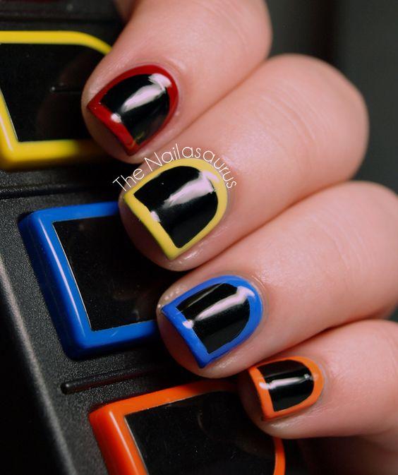 Guitar Hero Nails