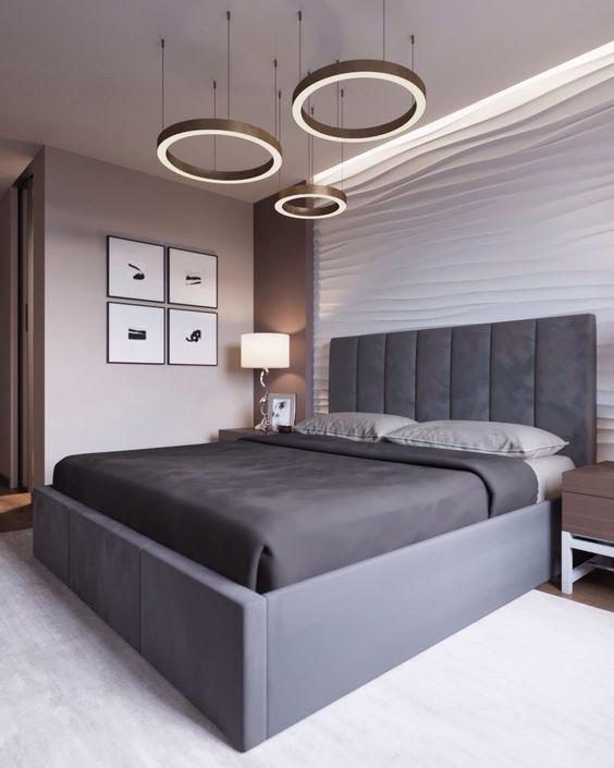 22 Modern And Romantic Bedroom Lighting Ideas Modern Luxury Bedroom Luxurious Bedrooms Bedroom Layouts
