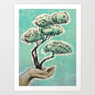 SEED IDEA Art Print by NomadicSoulCreations - $20.00