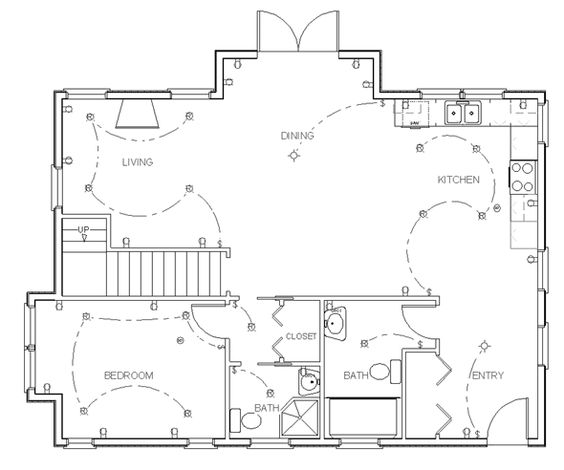 Home design software floor plans and design your own home for Floor plan drafting software