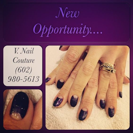 """New Opportunity... @volgznailcouture  #nailboss #mattenails #polkadotnails #purplenails #couturenails #"""