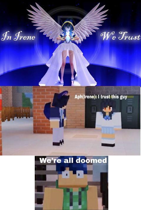Meh Original Aphmau Meme Aphmau Aphmau Memes Aphmau Characters