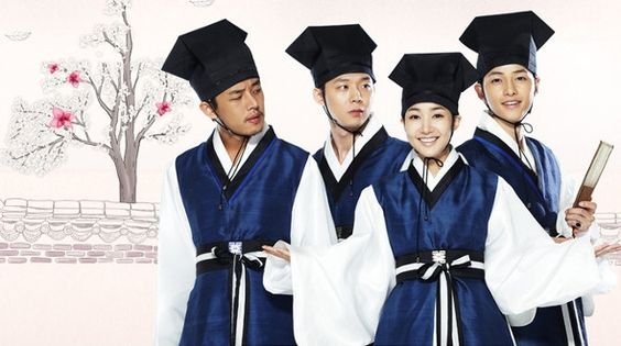 Sungkyunkwan Scandal - Definitely enjoyable - Yoon Hee takes her brother's identity and works odd jobs to support her family during the Chosun Dynasty. She starts taking exams for scholars trying to get into the prestigious Sungkyunkwan University but is discovered by a morally upright Sun Joon, who threatens to turn her in. Thinking she is a boy, Sun Joon convinces her to take the exam and she's accepted into the school. But how long can she keep her true identity a secret?