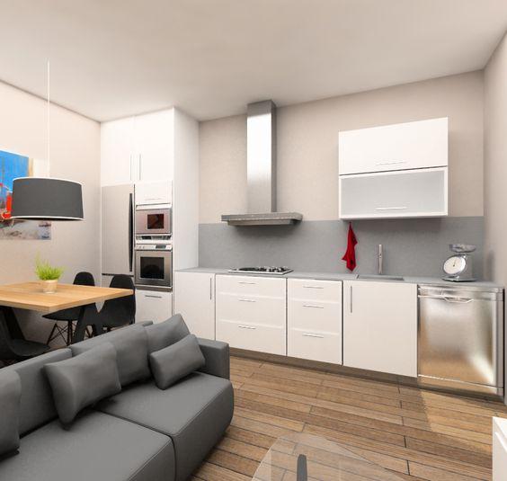 Proyecto de dise o de interiores para la reforma integral for Diseno interiores barcelona