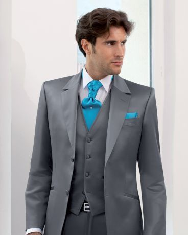 costume de crmonie pour homme costume de mariage costume homme 3 pices gris anthracite - Costume Homme 3 Pieces Mariage