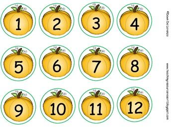 English Exercises: Numbers Test ( 1-12)