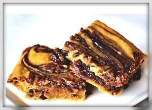 Gluten Free Nutella Swirled Cherry Bars