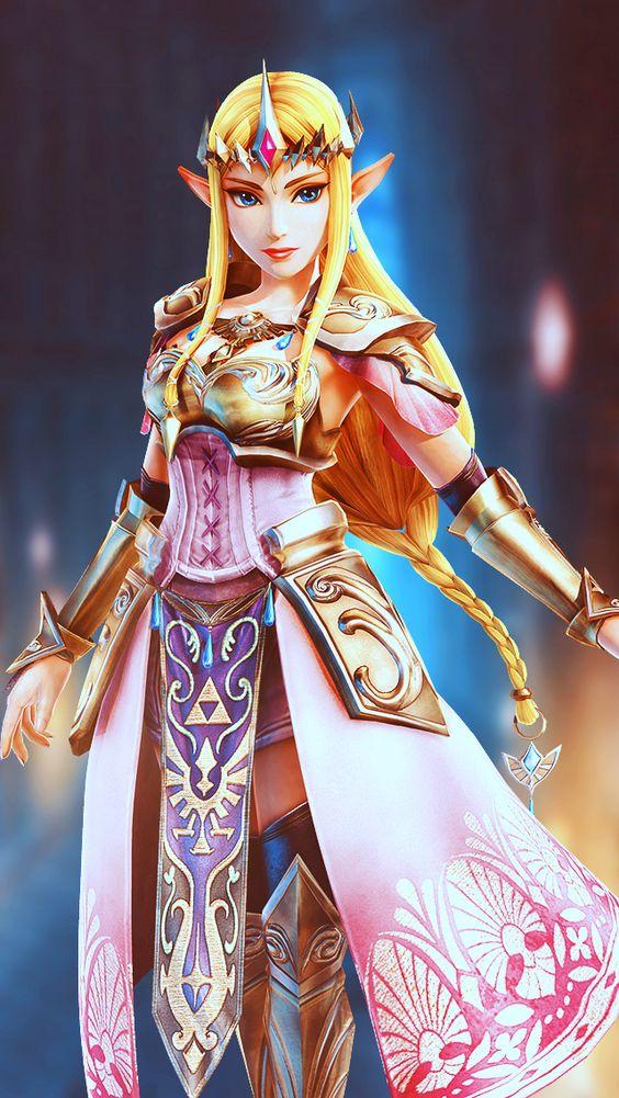 Princess Zelda Hyrule Warriors iPhone Wallpaper The
