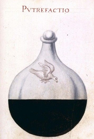 alchemical drawings fromSapientia veterum philosophorum, sive doctrina eorumdem de summa et universali medicina, 18th century-National Library of France