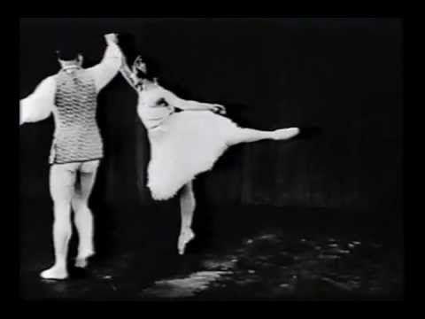 Tamara Karsavina and Peter Vladimiroff - PDD from 'Sylvia' (1925)