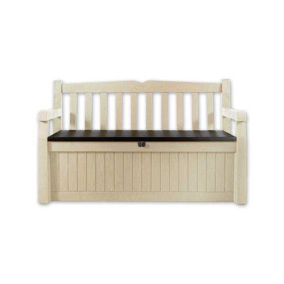 banco para jard n de resina beige asiento jardin mobiliario campestre muebles de jard n