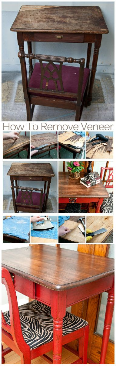 Salvaged Inspirations | 7 Easy Tips on How To Remove Veneer