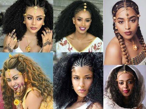 The Beauty Of Ethiopian Braids Ethiopian Bridal Hairstyle Ethiopian Braids Little Girl Hairstyles Beautiful Braids