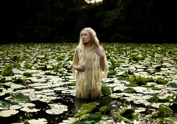 Wonderland : Lady of The Lake by Kirsty Mitchell, via Flickr