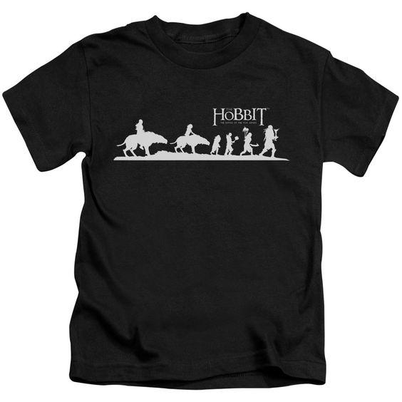 Hobbit/Orc Company Short Sleeve Juvenile T-Shirt in