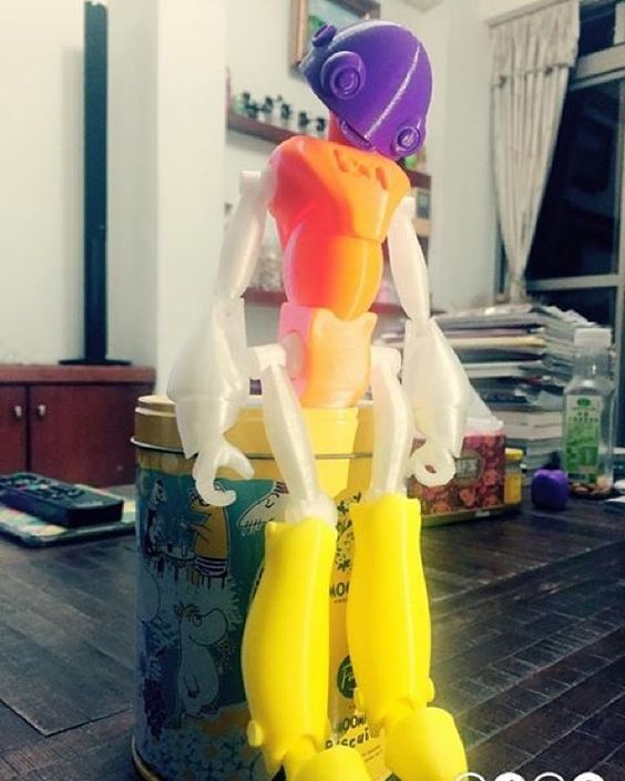 Something we liked from Instagram! Printed by #86duino_enjoy #3dprinting #3dprinter #3dprinted #3dprint #robot by gentle_design check us out: http://bit.ly/1KyLetq